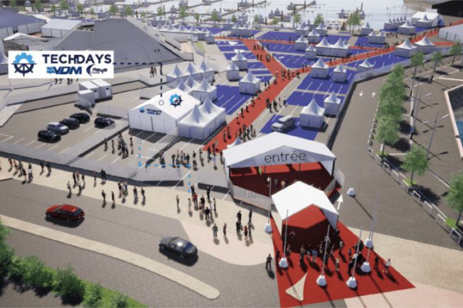 Tente des Tech Days de VDM-Reya