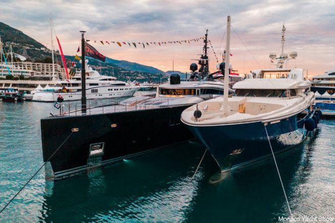 Yachts lors du Monaco Yacht Show