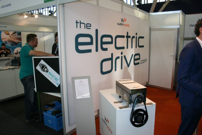 Propulseur électrique exposé au METS Amsterdam