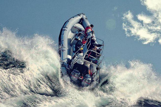 Semi-rigide avec flotteur en Hypalon de chez Orca - Pennel & Flipo