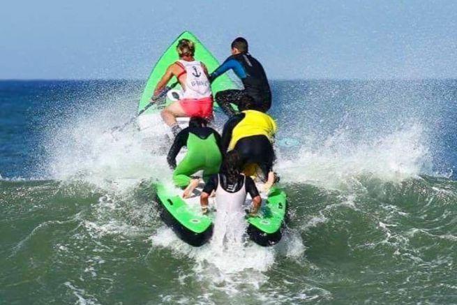 Planche de paddle Goliath d'Anonym SUP racheté par Zodiac Nautic