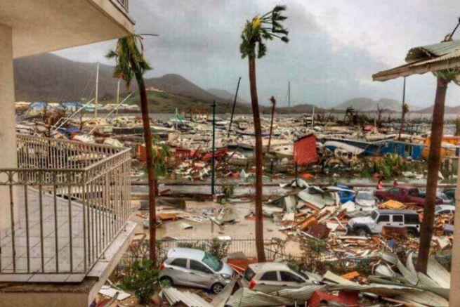 Saint-Martin après le passage du cyclone Irma