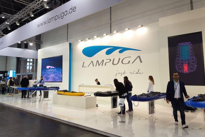 Le stand Lampuga au Boot Düsseldorf