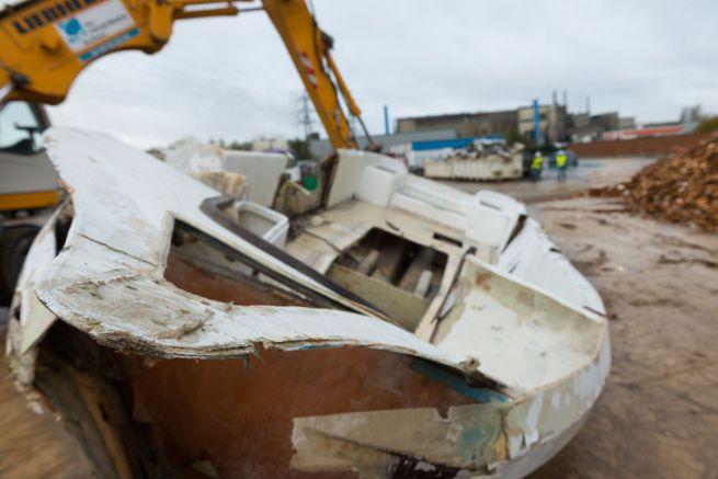 Déconstruction de bateau