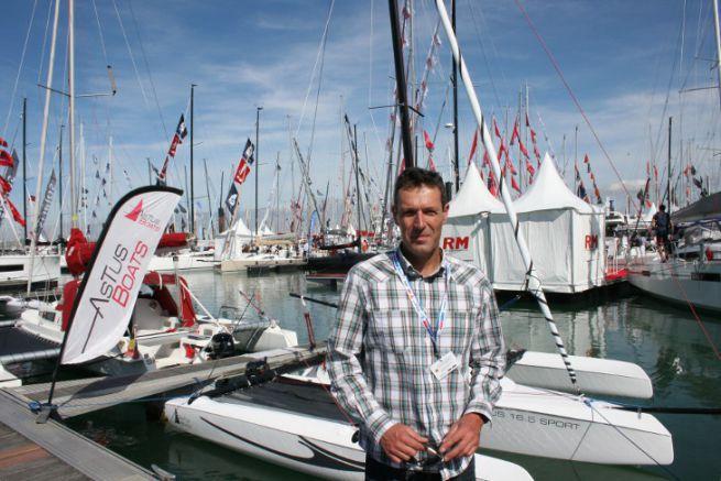 Jean-Hubert Pommois, fondateur d'Astus Boats