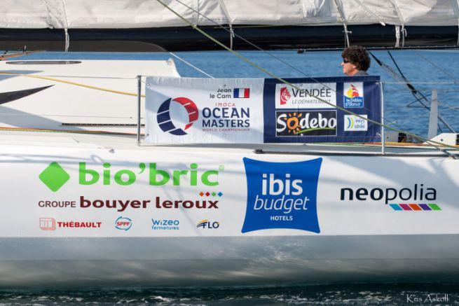 Sponsors sur le bateau de Jean Le Cam pour le Vendée Globe