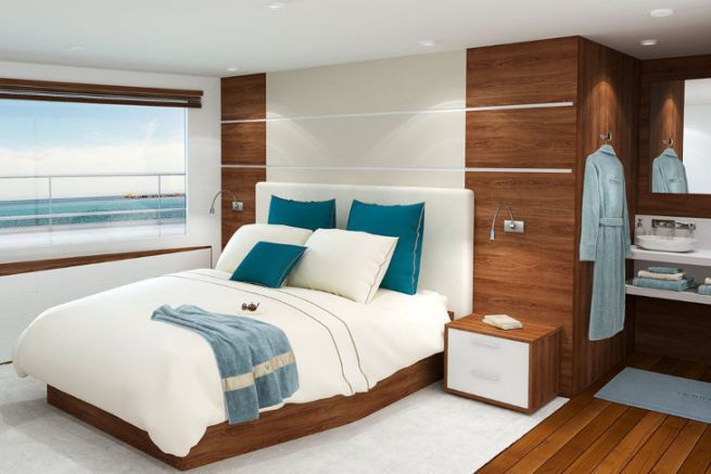 Victoria Yachting propose une large gamme de literie et de linge pour les cabines de bateaux