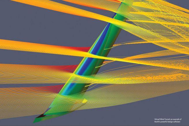 Etude aérodynamique par North Sails