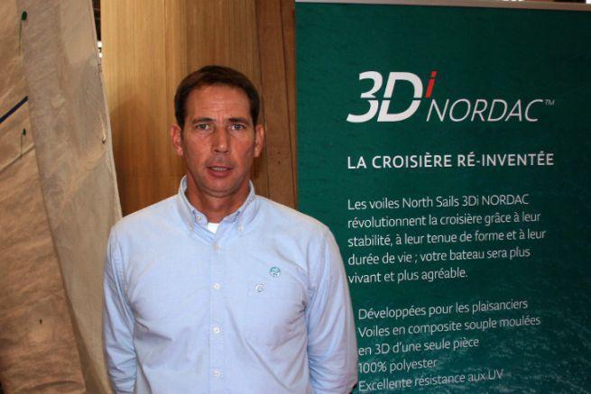 Greg Evrard, dirigeant de North Sails France