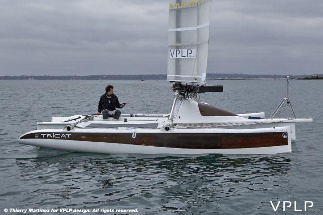 Prototype de l'aile OceanWings de VPLP